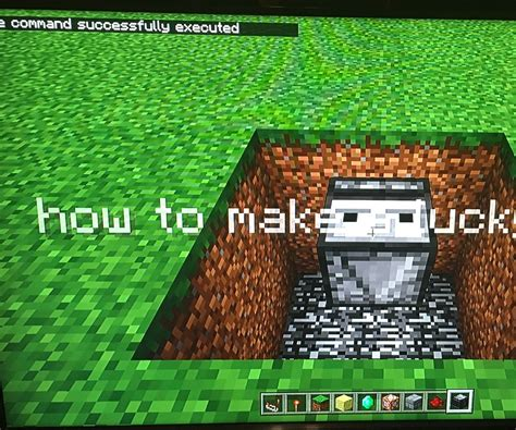 How to Make a Lucky Block in Minecraft Using No Mods : 6