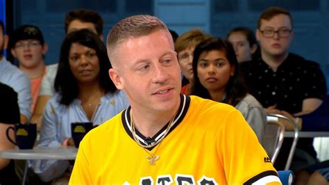 Macklemore on shooting a music video with his 100-year-old
