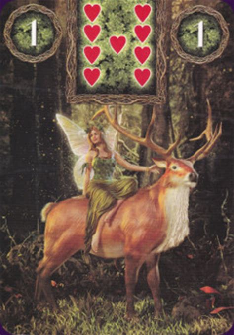 Fairy Lenormand Oracle Reviews & Images | Aeclectic Tarot