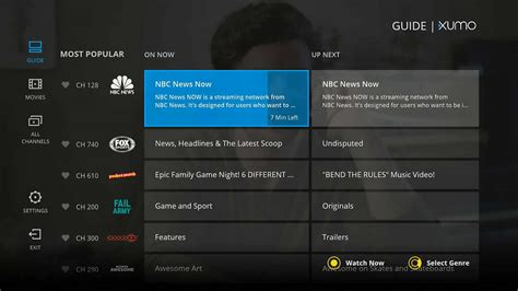 Xumo Launches New Android TV App With Free Live TV & Movies
