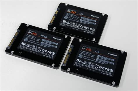 Samsung 860 EVO and PRO SATA SSD Review - 512GB, 1TB, and