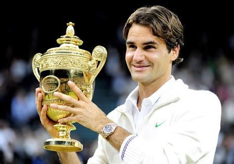 Roger Federer with Winning Cup Wallpapers | HD Wallpapers