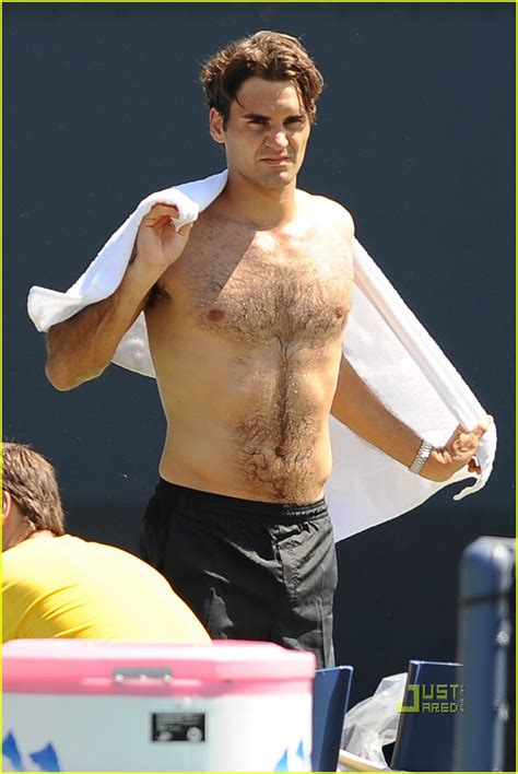Roger Federer: Shirtless Sexy: Photo 2186121 | Anna