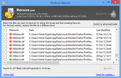 Recuva: Download One of the Best Free Data Recovery