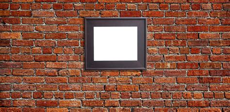 How to Hang a Picture on a Brick Wall - Jackson's Gallery