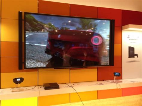 This Is How A PS4 Setup With 110 Inch 4K TV Looks Like